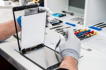 Réparation de tablettes